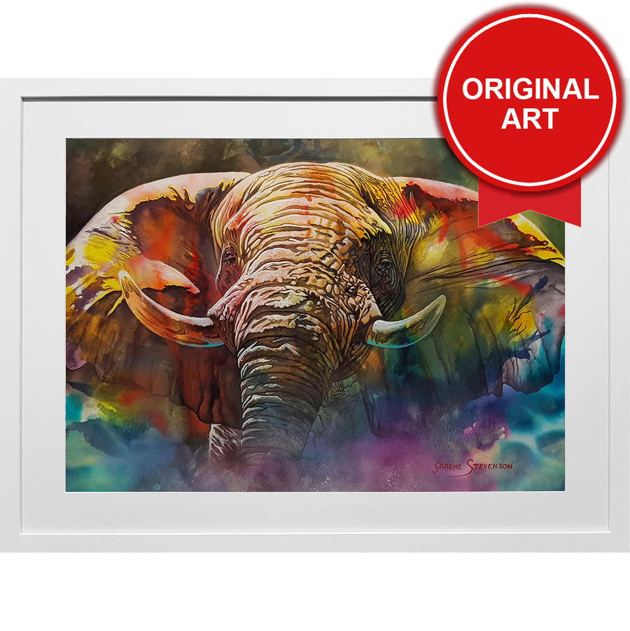 Painting of Elephant (Original)