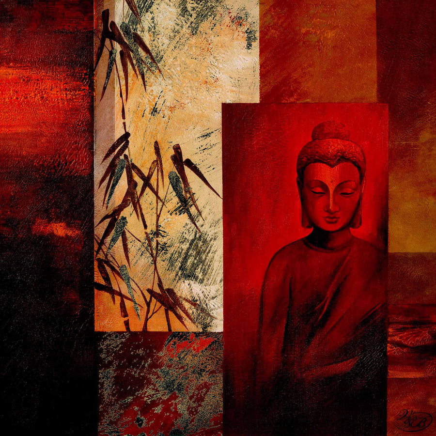 Canvas or Paper Print of Buddha No.1