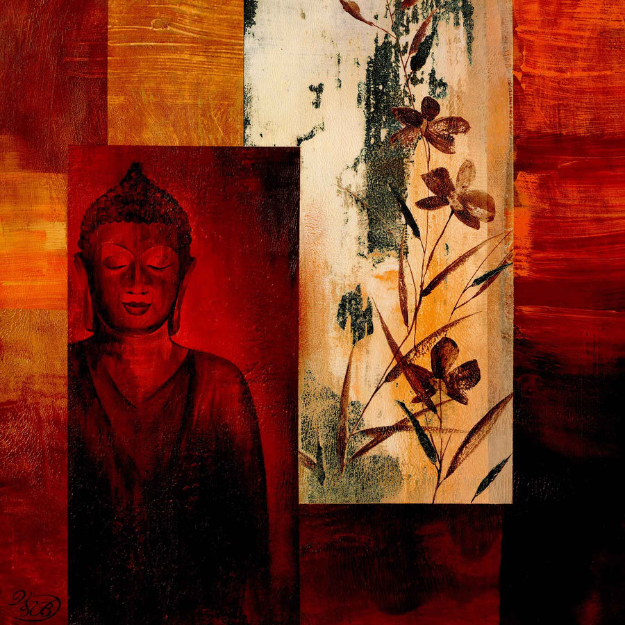 Canvas or Paper Print of Buddha No.2