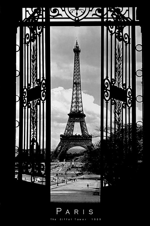 Canvas or Paper Print of Eiffel Tower