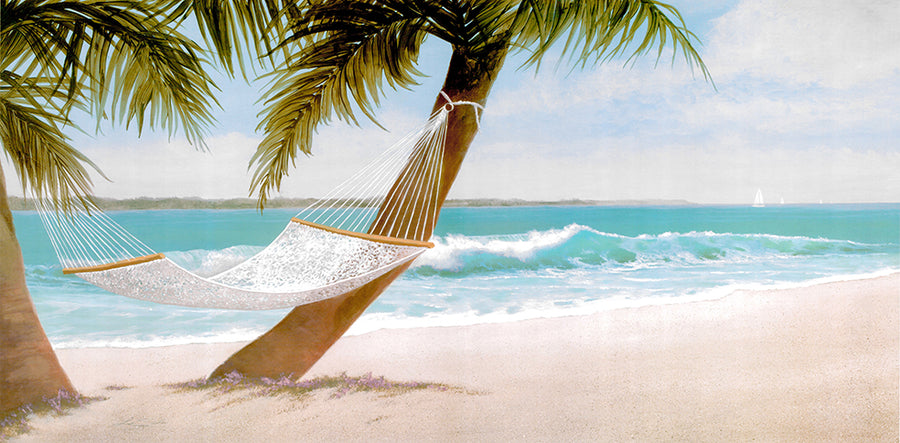 Canvas or Paper Print of Hammock