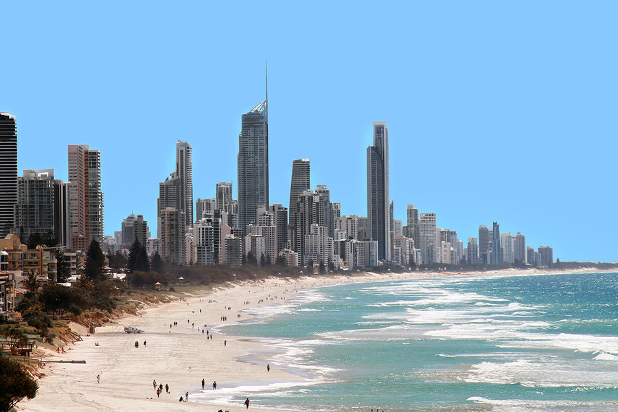 Canvas or Paper Print of Surfers Paradise No.4