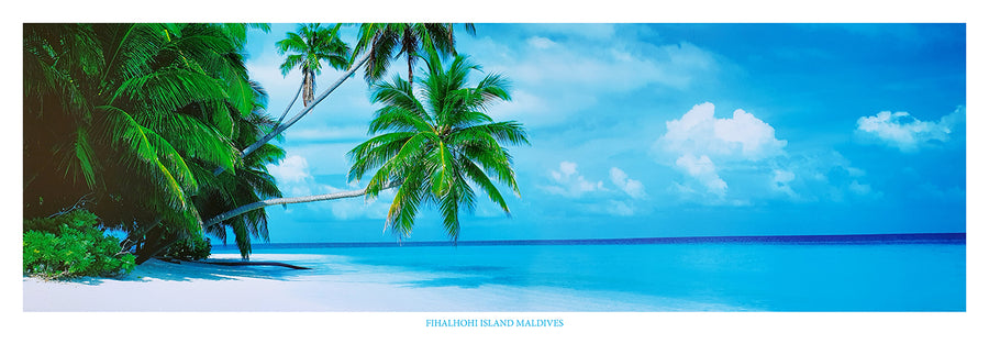 Framed Print of Maldives