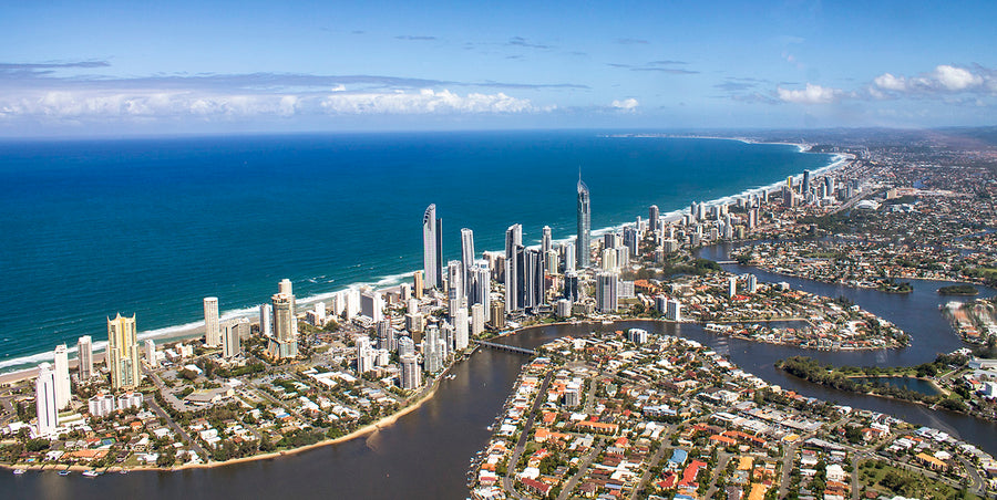 Canvas or Paper Print of Surfers Paradise No.5