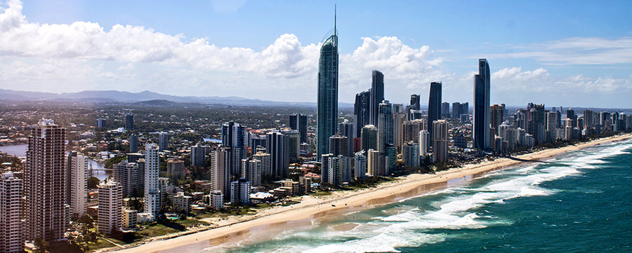 Canvas or Paper Print of Surfers Paradise No.1