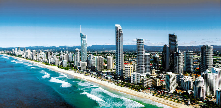 Canvas or Paper Print of Surfers Paradise No.3