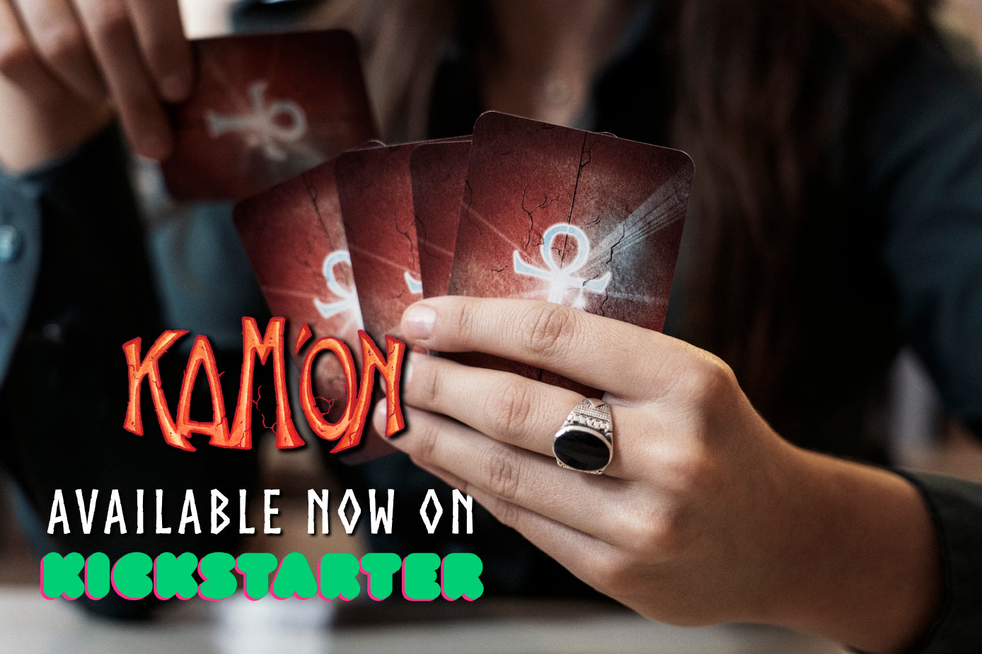 Now LIVE on Kickstarter: the Thrilling Egyptian Card Game of Deception!