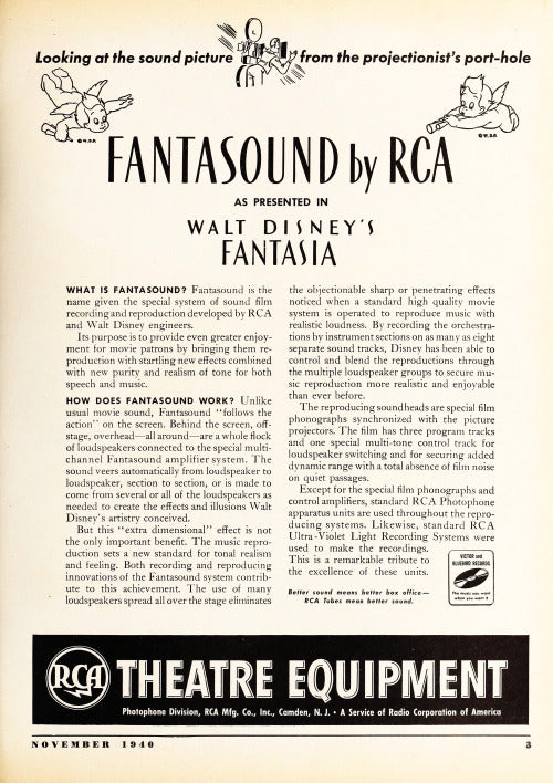 How Disney S Fantasia Changed Our Movie Experience With Sound Design Atellani Blog