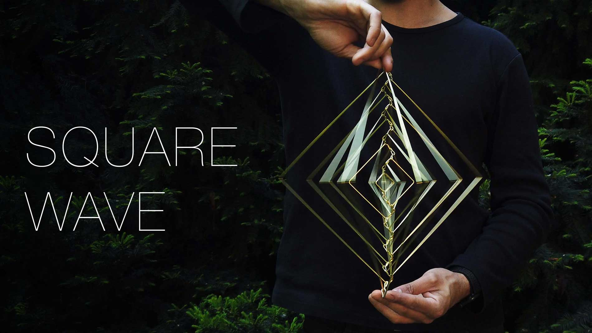 crowdfunding art, kickstarter art, ivan black square wave