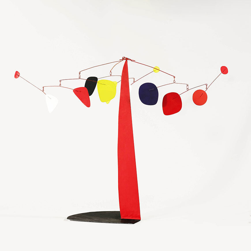 Alexander Calder, Three Tentacles, Kinetic Art