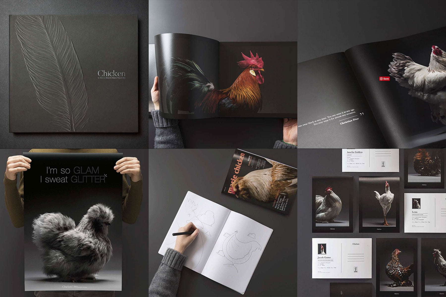 The Chicken Project by Atellani, Matteo Tranchellini and Moreno Monti