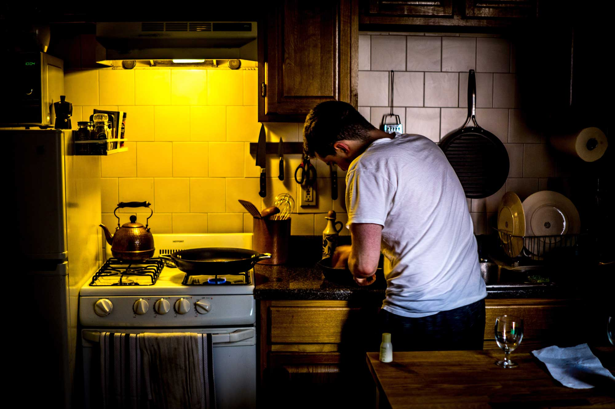 Several home activities can generate VOCs, like cooking