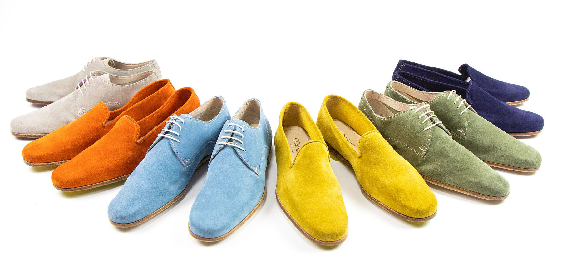 corsini shoes, coloured shoes, corsini shoes colour