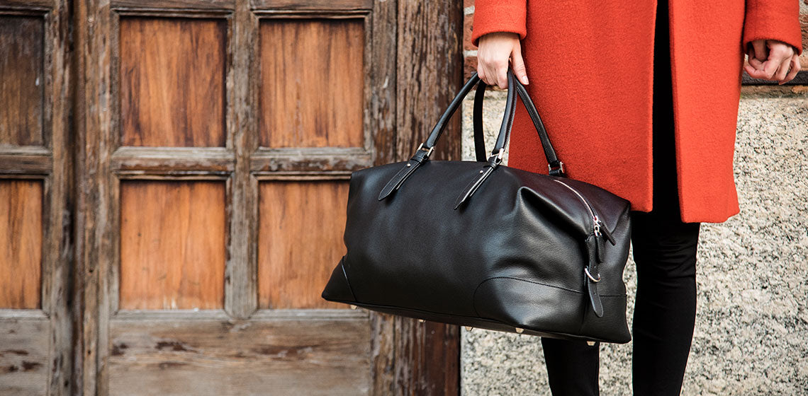 AEQUA Bag Italian Leather Collection made in Italy