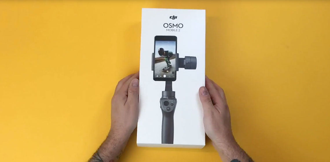 Unboxing the New DJI OSMO Mobile 2