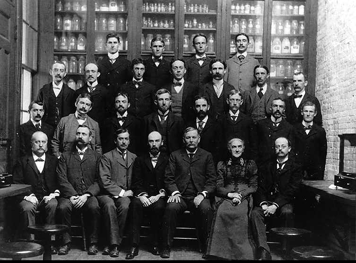 Members of the Department of Chemistry at MIT (1890)