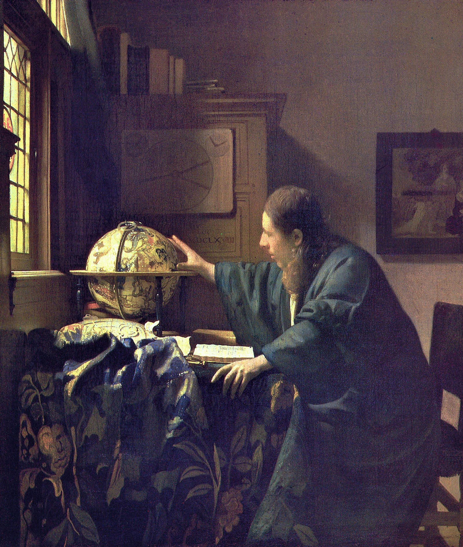 The Astronomer, Johannes Vermeer, vermeer camera obscura