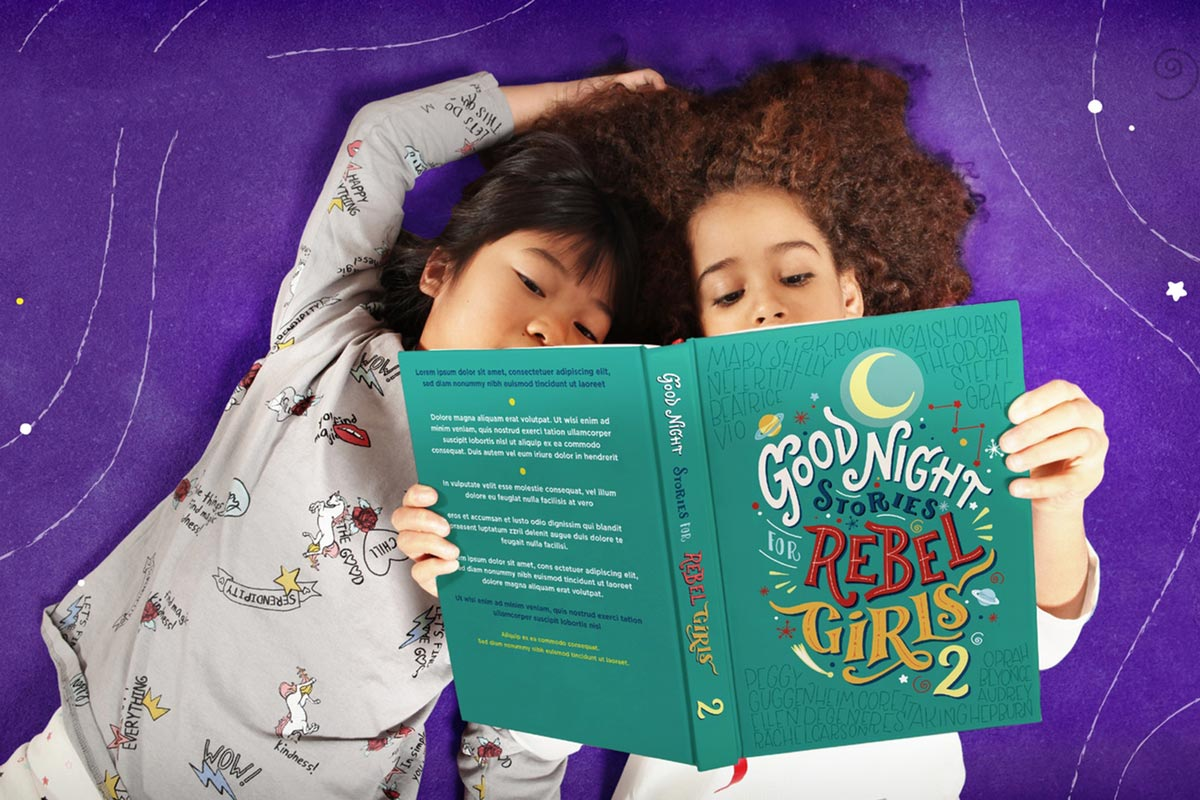Good Night Stories for Rebel Girls 2, Kickstarter campaigns by women
