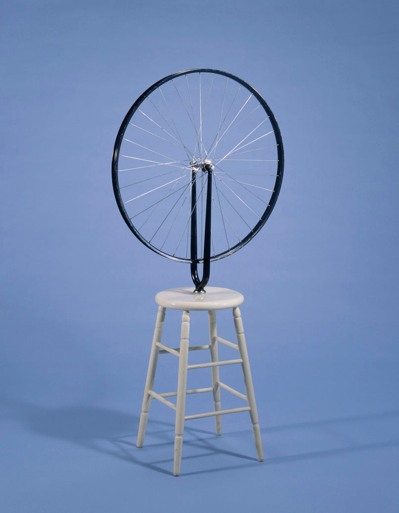 Kinetic art: Marcel Duchamp Bicycle Wheel