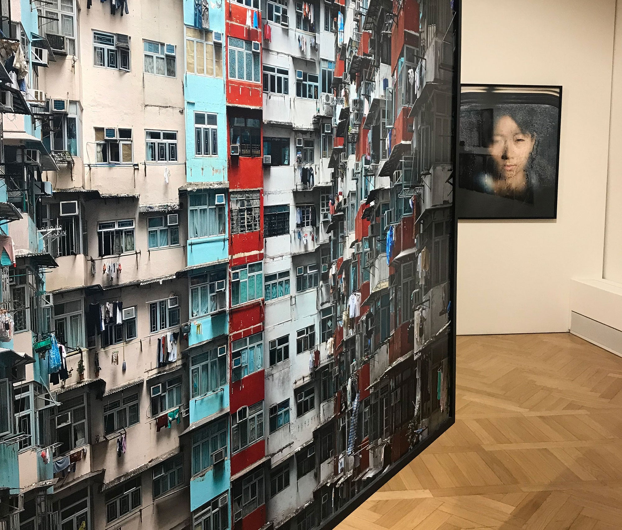 Michael Wolf exhibition Life in the cities at Fondazione Stelline