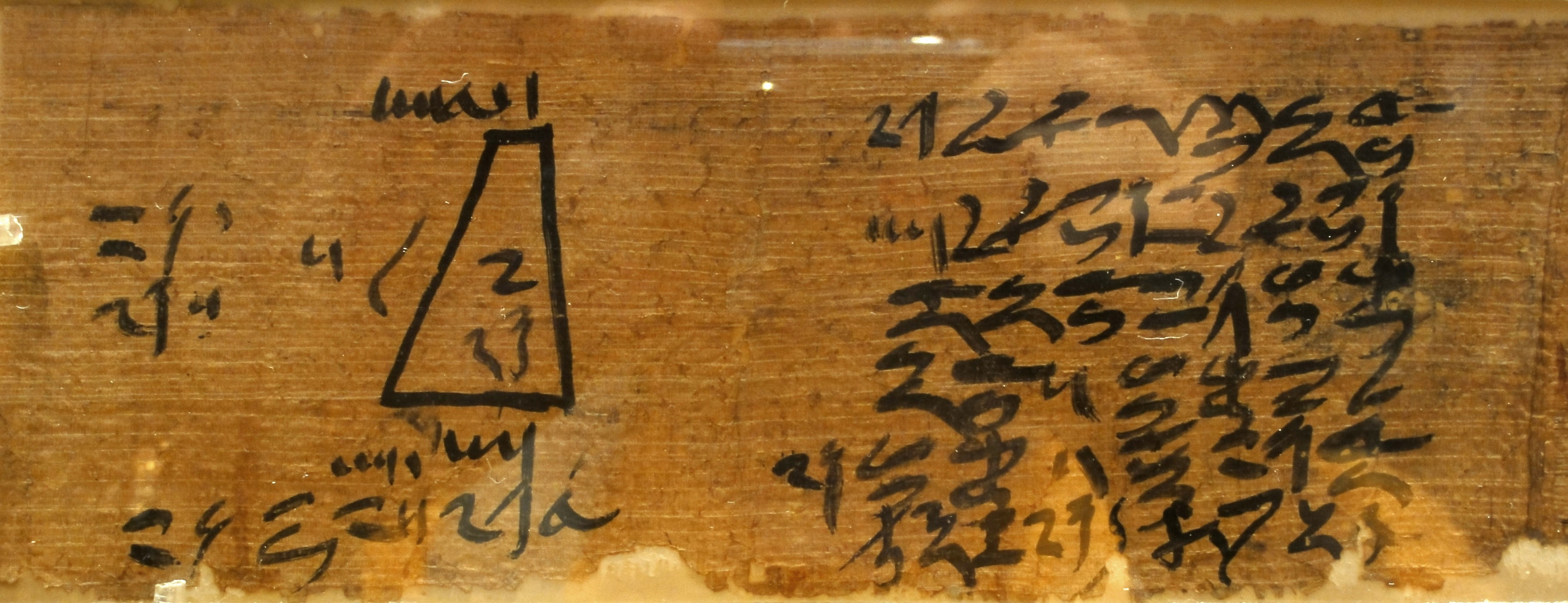 Moscow Mathematical Papyrus Pushkin State Museum of Fine Arts