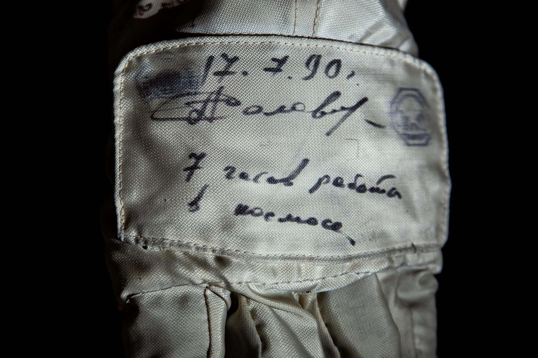 NASA 60th anniversary, astronaut gloves, Anatoly Solovyev gloves