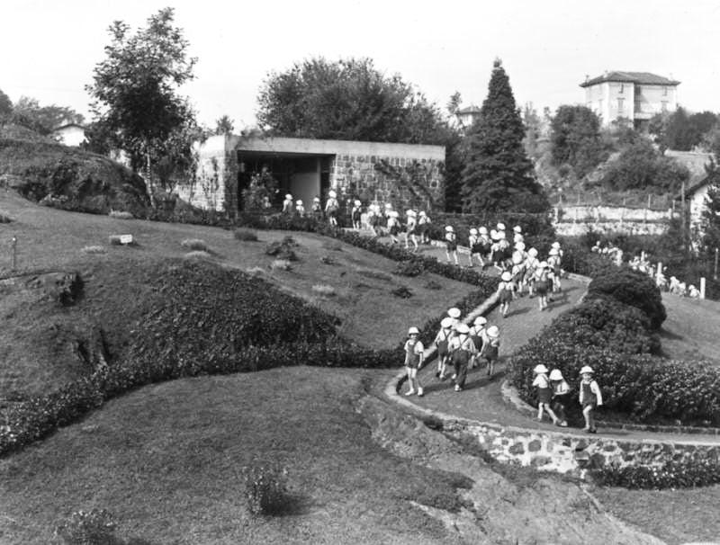 The nursery school designed by Gino Pollini e Luigi Figini in 1941