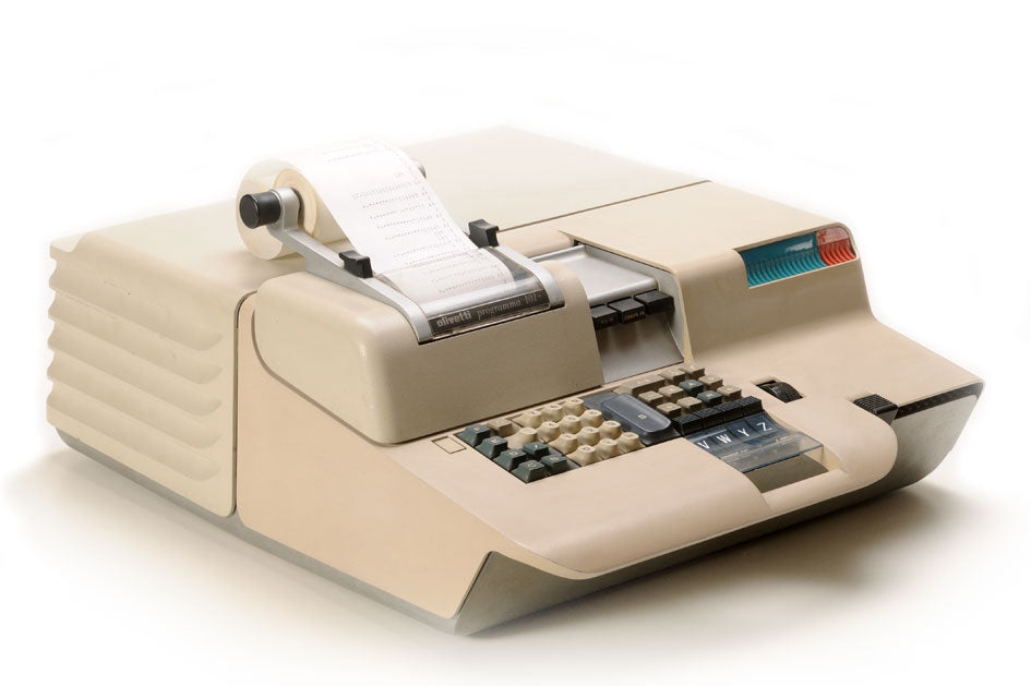 The Programma 101 by Olivetti