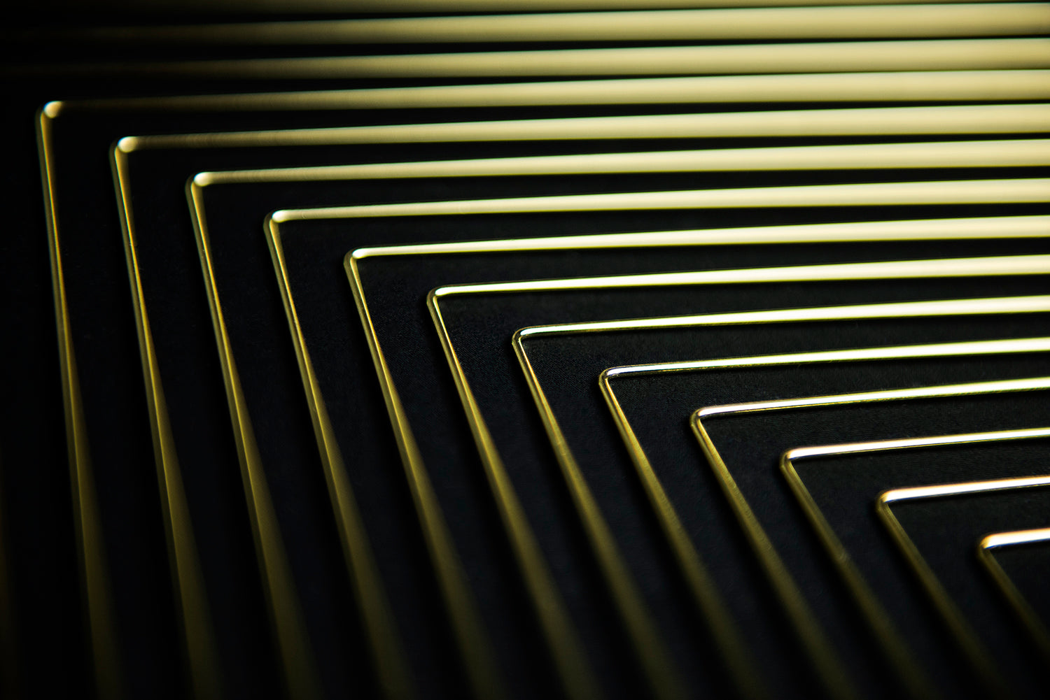 A detail of Square Wave Lunar Gold