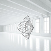 Square Wave Interior elegant decoration by kinetrika.com