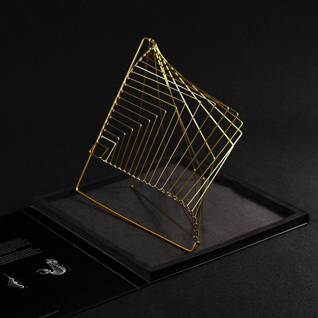Square Wave Gold Standing copyright design