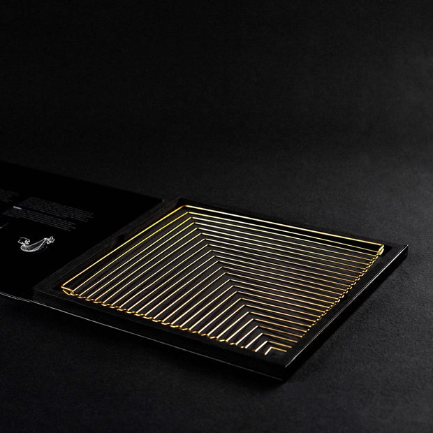 Square Wave Gold Edition by Kinetrika made in Italy packaging