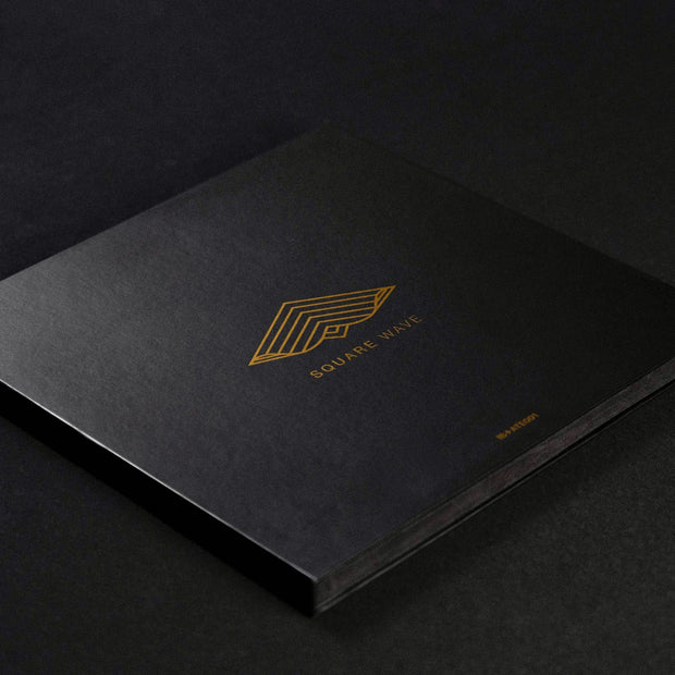 Square Wave Gold Packaging by Kinetrika wind spinner