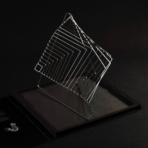 Square Wave Silver Edition Standing Made in Italy
