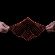 Square Wave Kinetic Wind Spinner