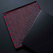 Square Wave Coral Red made in Italy packaging