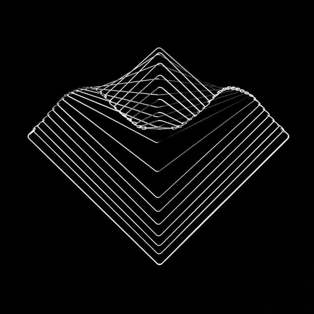 Square Wave Silver by Ivan Black for Kinetrika