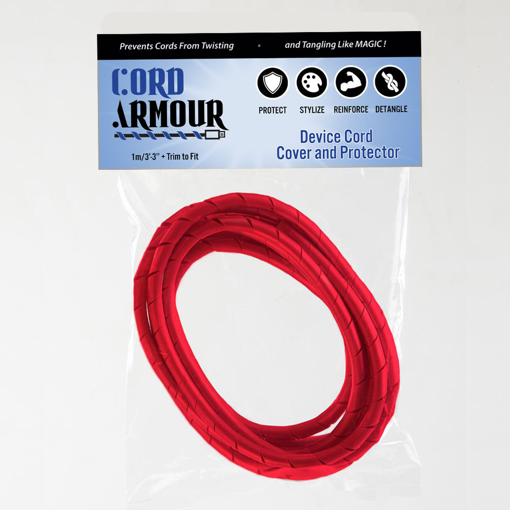Cord Armour | Red