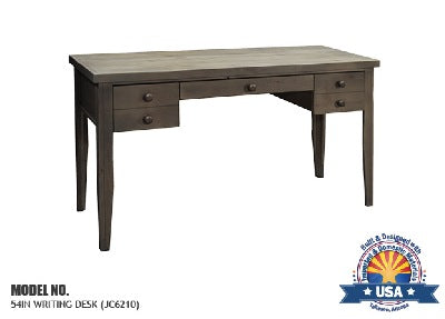 "Joshua Creek Collection; 54"" Writing Desk"