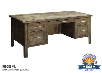Joshua Creek Collection; Executive Desk