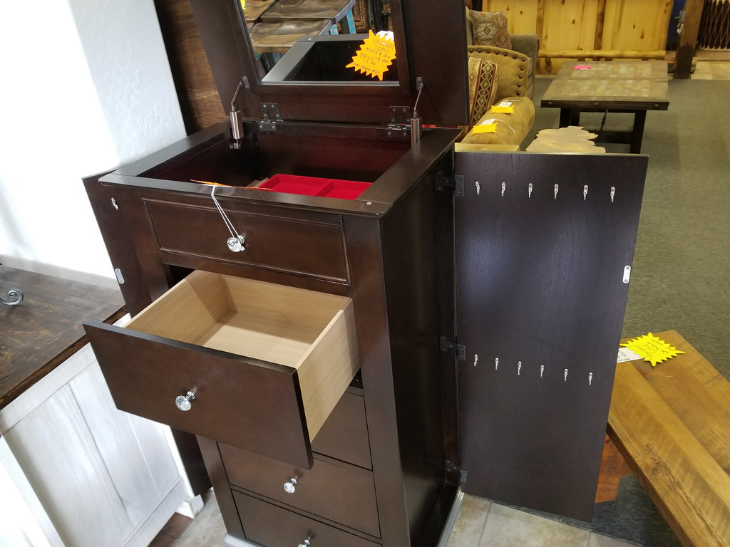 Large jewelry cabinet. Last One! Clearance sale!!
