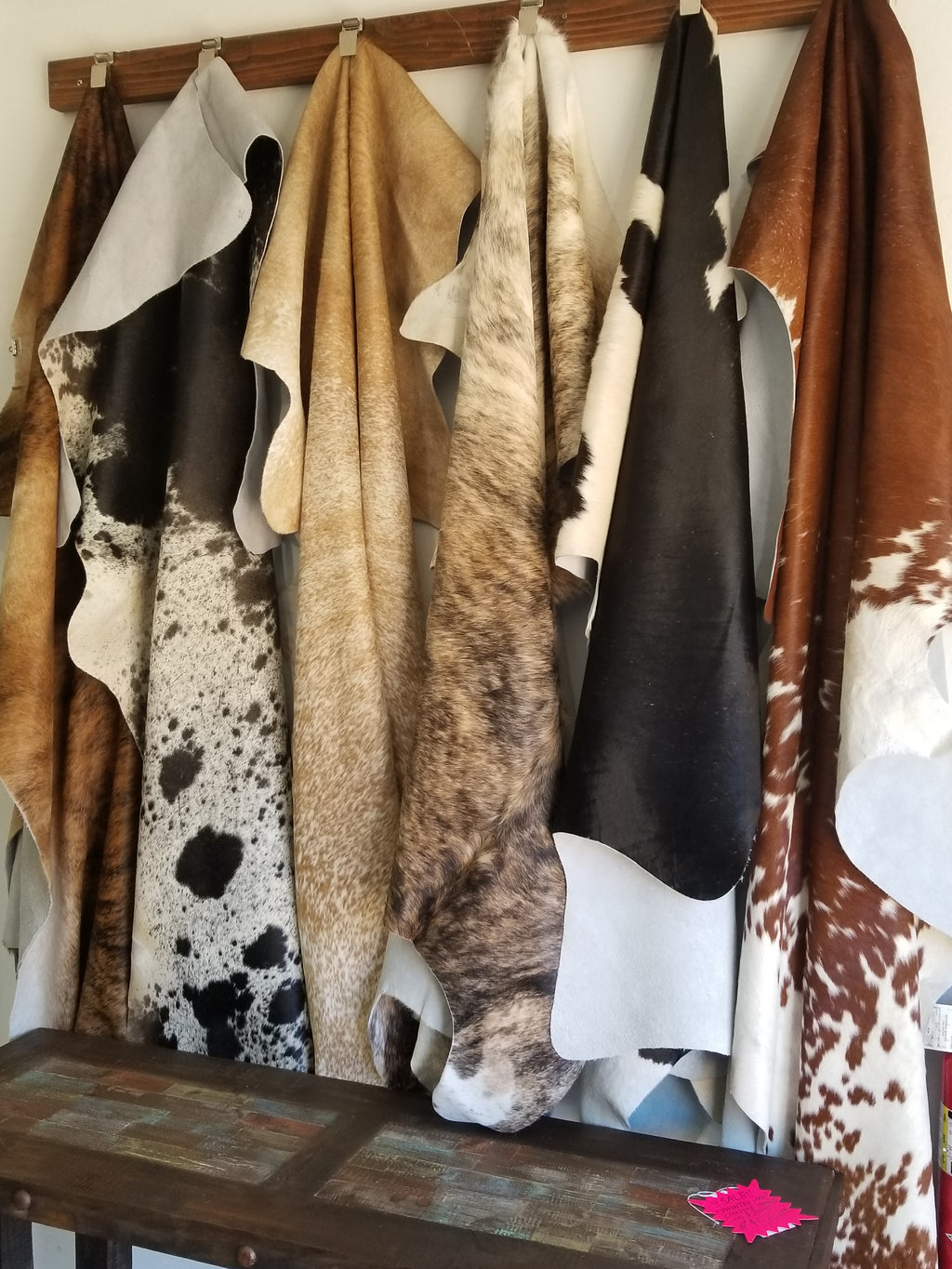SALE!! Large variety of cow hides!!!