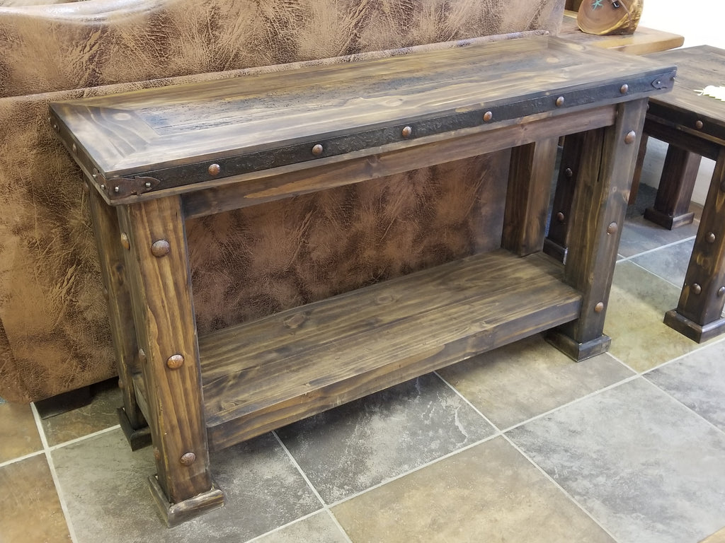 SALE!! Solid wood Laguna Sofa Table!