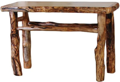 Remarkable Aspen Log Sofa Table 48W In Natural Panel Gnarly Log Alphanode Cool Chair Designs And Ideas Alphanodeonline
