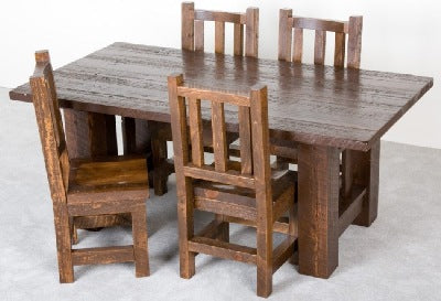 The Sawmill Collection Mission dining table