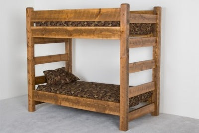 Sawmill Collection Barnwood Bunk Bed
