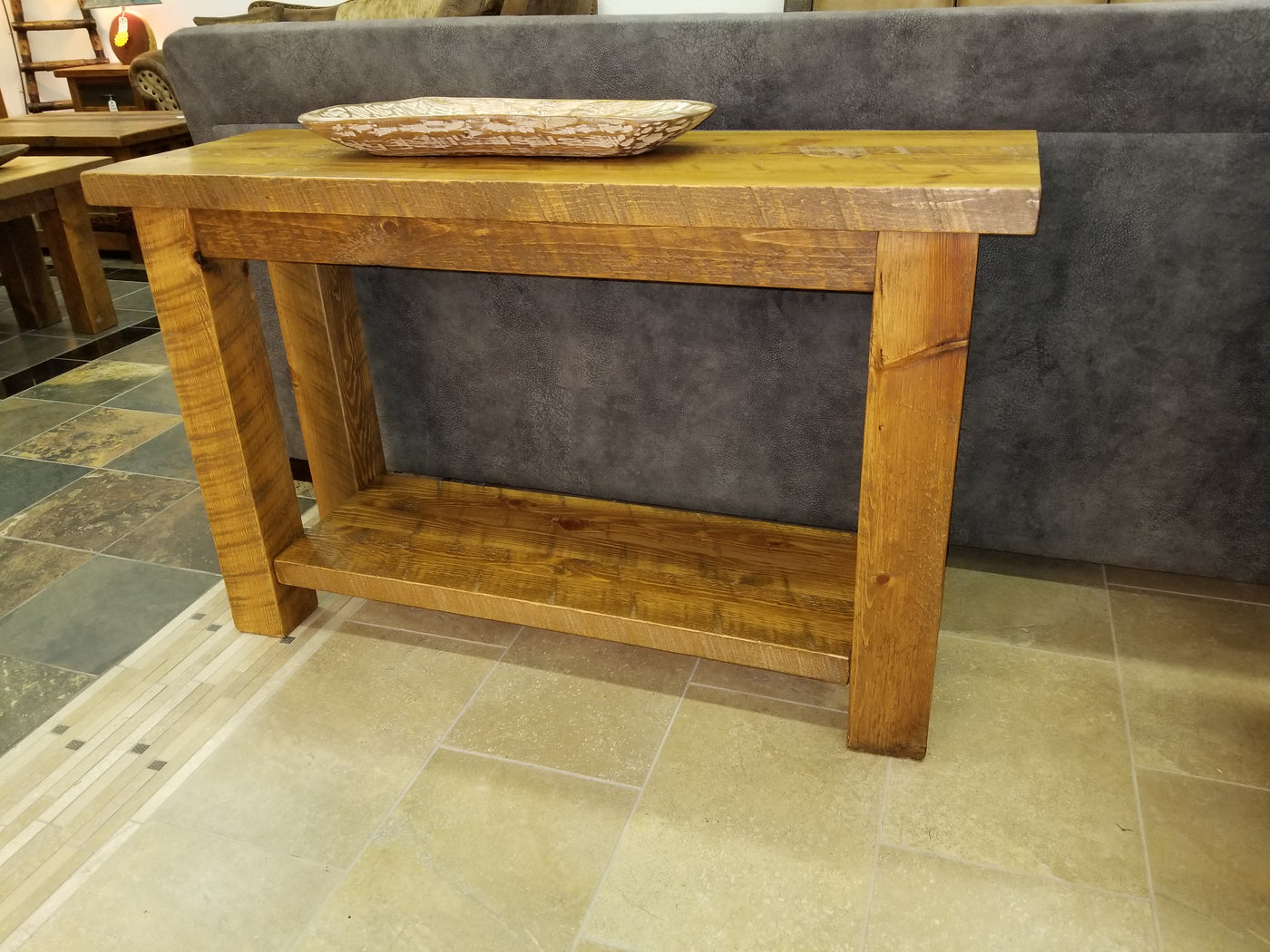 Remarkable The Sawmill Collection Sofa Table 48 Wide Download Free Architecture Designs Lukepmadebymaigaardcom