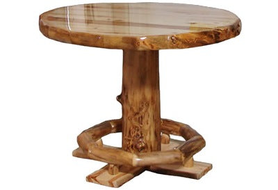 ASPEN LOG PUB TABLES OPTIONS