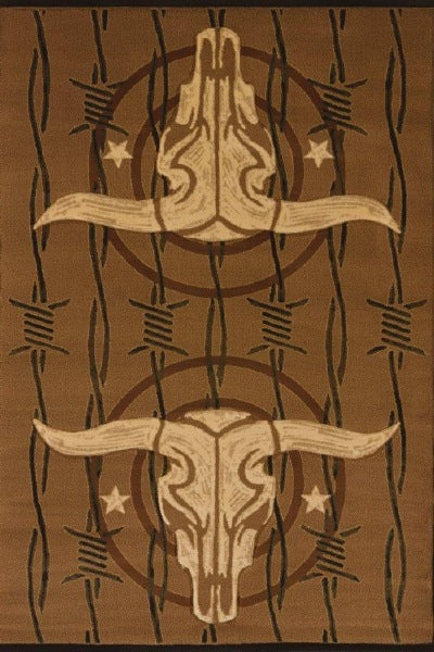 COWBOY STRONG COFFEE (STEER), DESIGNERS CONTOURS COLLECTION