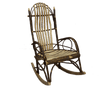 Hickory Log Legacy Rocking Chair
